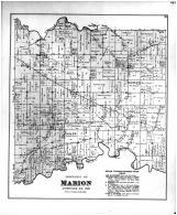 Marion Township, Barnes P.O., Slate P.O., Cana P.O., Jennings County 1884